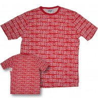 Stussy 'Bar Crew' Tee  -Red-