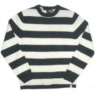 Stussy 'Stripe knit' Sweater  -Blk/Wht-