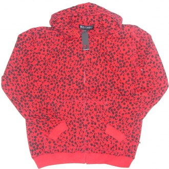 Subware  'All Over Fat Cap' Hoodie -Red-
