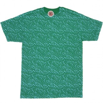 Subware 'Allover Arrows' Tee -Green-
