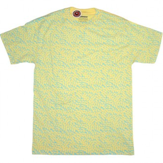 Subware 'Allover Arrows' Tee -Lemon-