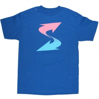Subware  'Ess Fade' Tee -Blue-