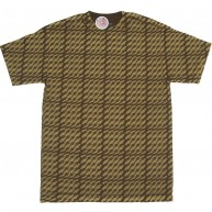 Subware 'Ess Tooth' Tee -Brown-