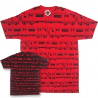 Subware 'Positive Negative' Tee -Red-