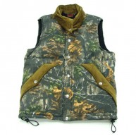 Tenderloin'Down' Vest  -Camo-